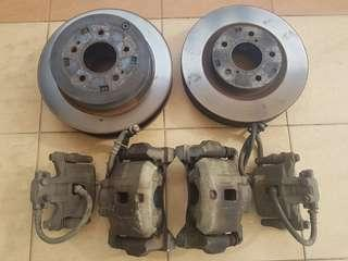 Mitsubishi Grandis NA4W caliper and rotor complete set