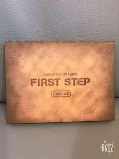 Cnblue first step 💿 CD