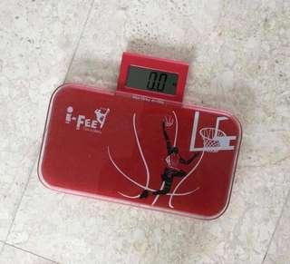 Red weighing Scale