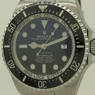 BNIB ROLEX DEEPSEA D BLUE 126660