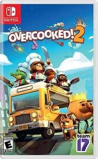 🚚 Nintendo Switch Overcooked 2