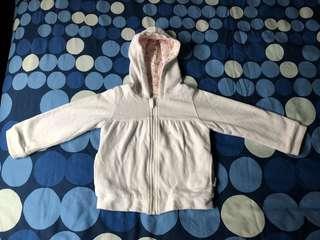 Ganas kids white baby jacket