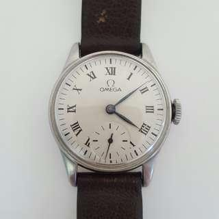 Omega Subhand Winding Vintage Watch