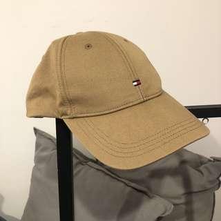 Tan Tommy Hilfiger Hat