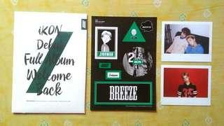 Jinhwan Welcome Pack from iKON Wlcome Back Full Album