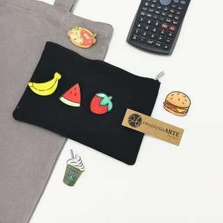 Acrylic Badge | Food & Travel Series | Banana, strawberry, watermelon, hot pot, burger, starbucks, plane