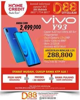 Vivo Y93 3GB sudah cash back