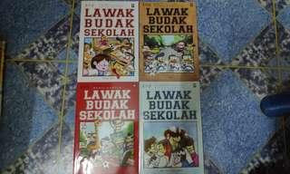Komik / Comics Lawak Budak Sekolah ( Volume 2- Volume 5 )