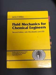 Fluid Mechanics for Chemical Engineers