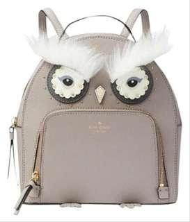 Kate Spade Owl Tomi Star Bright Saffiano Leather BackPack-CITYSCAPE