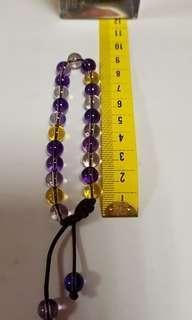 🚚 自製DIY紫晶手鍊