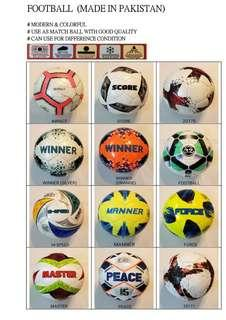 New Football Size 5! Soccer From Pakistan !全新款巴基斯坦製足球!