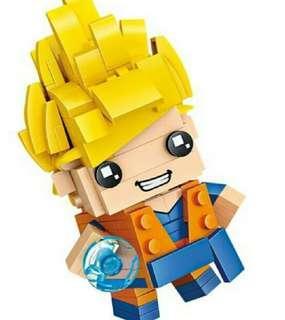 Brickheadz 全新Q版龍珠, 胡迪, 鐵甲俠 (需要自己砌)