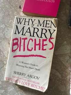 Why man marry bitches- relationship books