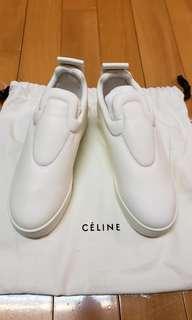 Original$6000,brand new , Celine white slip on sneaker shoes 全新celine 白色波鞋