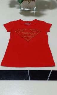 SUPER GIRL Kids Tshirt