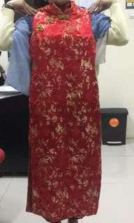 Cheongsam dress #CNY2019