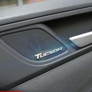 BN Hyundai Tucson Emblems (Small size)