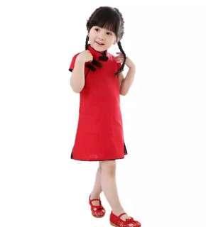 Cheongsam qipao red dress #cny2019