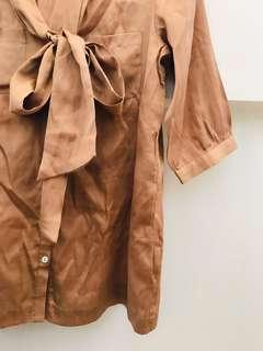 Bysi Bronze Brown Top