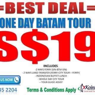 BATAM ONE DAY PROMOTIONS