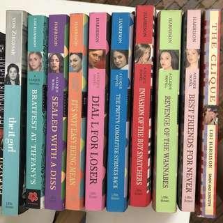 The Clique novel series