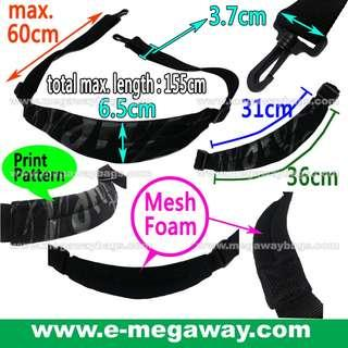 #Black #Printed #Adjustable #Shoulder #Strap #Comfort #Soft #Mesh #Foam #Webbing #Tape #Hooks #Camera #Music #Musical #Instruments #Equipment #Gear #Sports #Bags #Case #Padded #Unisex #Carry #Travel #Must-have @MegawayBags #Megaway #MegawayBags #CC-1604