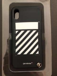 """Authentic """"OFF White"""" IPhone X and XS Phone Case Keychain"""