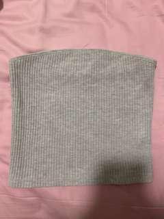 Brandy Melville grey tube top