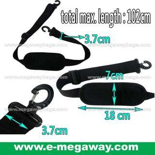#Black #Adjustable #Shoulder #Strap #Comfort #Foam #Webbing #Tape #Hooks #Camera #Music #Musical #Instruments #Bags #Case #Pouch #Padded #Unisex #Carry #Travel #Must-have @MegawayBags #Megaway #MegawayBags #CC-1608