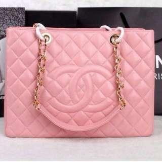 Chanel Pink Gst Bag
