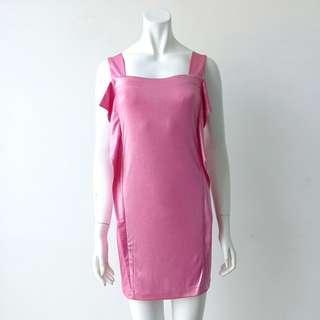 Pink Shiny Dress #CNYGA