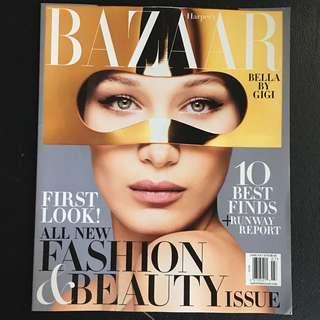 Bazaar US Jun/Jul 2018 - Bella Hadid