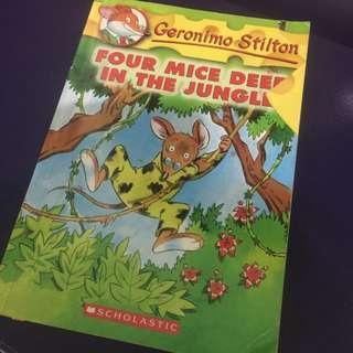 Geronimo Stilton: Four Mice in the Jungle