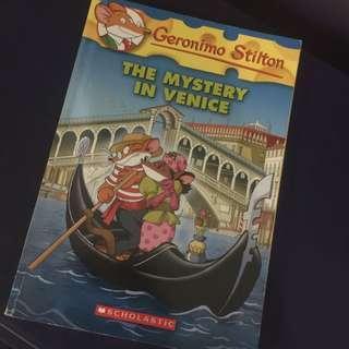 Geronimo Stilton: The Mystery in Venice