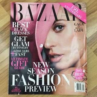 Bazaar US Jan 2017 - Lady Gaga