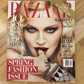 Bazaar US Feb 2017 - Madonna