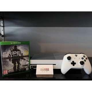 XBOX ONE S + SNIPER 3 : GHOST WARRIOR - USED