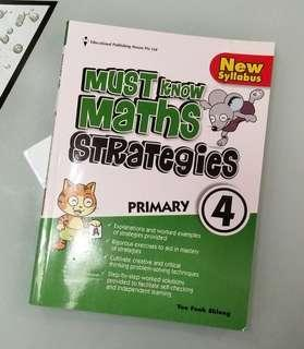 P4 Must Know Maths Strategies