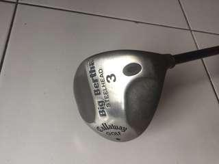 Big Bertha Steel Head 3 Driver Shaft Callaway Golf