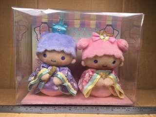 Sanrio Little Twin Stars 女兒節毛公仔 641669