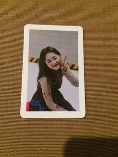 Twice nayeon yes or yes photocard