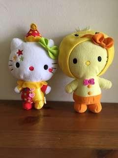 Hello Kitty x 2