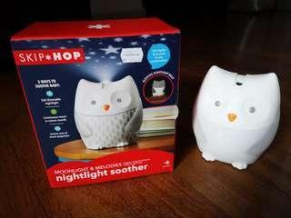 Skip*Hop nightlight soother Owl