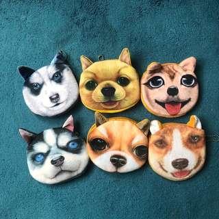 🚚 6款 狗狗領錢包