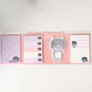 Neo Kakao Friends Sticky Note Set