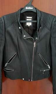 Preloved jaket kulit zara
