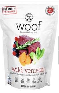 🚚 Woof wild wild venison 1.2kg