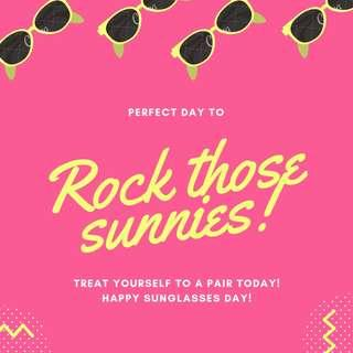Buy 5 Sunnies for 500! Save 250!!!