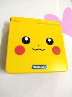 Refurbished Gameboy Advance SP pikachu version